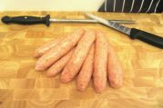 Cajun Pork Sausages